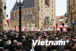 Ba Lan cử hành lễ tang Tổng thống Kaczynski