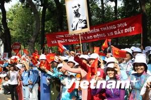 Tưng bừng kỷ niệm 35 năm giải phóng miền Nam