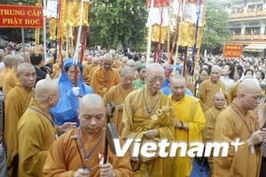 Hơn 1.200 tăng, ni dự Đại lễ Phật giáo 1000 năm