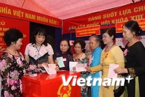Nhiều địa phương tiếp tục công bố kết quả bầu cử