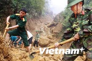 Sập núi ở La Pán Tẩn: Tìm được thi thể 2 nạn nhân