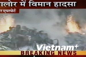 169 người thiệt mạng vì tai nạn máy bay ở Ấn Độ
