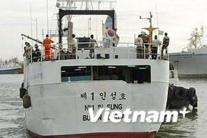 Đề nghị Hàn Quốc hỗ trợ tìm thủy thủ người Việt