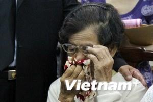 Tổ chức tang lễ cho cô dâu Việt bị chồng sát hại