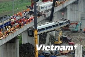 Sự cố tàu cao tốc Trung Quốc không do thiên tai
