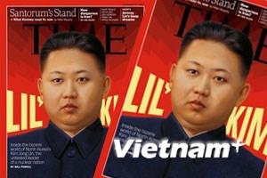 Tạp chí Time đưa ông Kim Jong-Un lên trang bìa