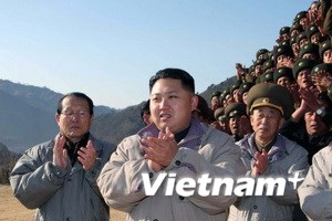 Tân lãnh đạo Triều Tiên thăm một đơn vị quân đội