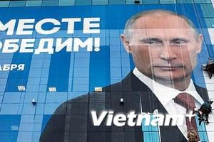 Chính thức tuyên bố ông Putin đắc cử Tổng thống