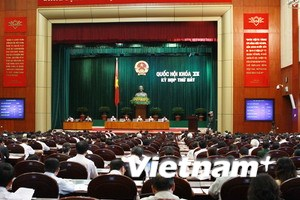 Quốc hội biểu quyết thông qua năm dự án luật