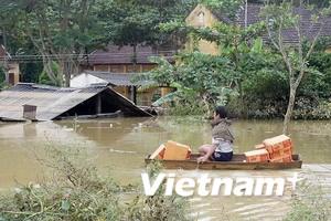 Lũ lụt tại miền Trung đã làm 46 người thiệt mạng