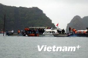 Công ty có tàu đắm ở Vịnh Hạ Long phải tạm dừng