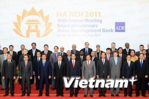 Khai mạc hội nghị lần 44 Hội đồng thống đốc ADB