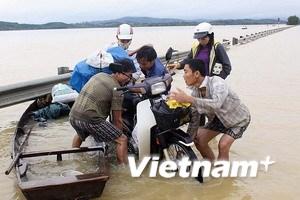 Đã có 36 người thiệt mạng vì mưa lũ ở miền Trung