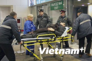 """Nga """"tố"""" phiến quân Bắc Kavkaz đánh bom sân bay"""