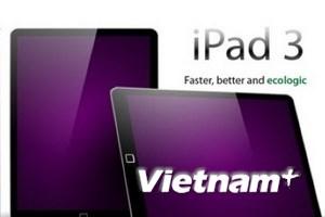 iPad 3 mang tên HD?