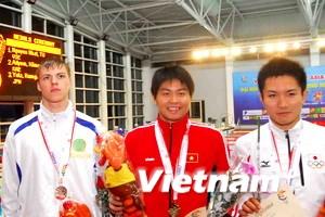Đoàn thể thao Việt Nam tạm xếp thứ 2 tại AIG III