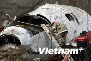 Tai nạn máy bay Ba Lan do sơ sót của phi công