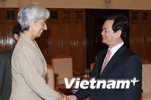 Thủ tướng tiếp các trưởng đoàn dự Hội nghị ADB