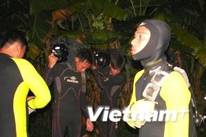 Đã xác định vị trí tàu du lịch đắm tại sông Sài Gòn