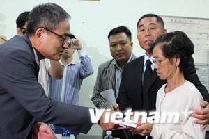 Hội Hàn kiều chia sẻ nỗi đau gia đình cô dâu Việt