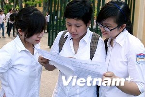 Hà Nội có 48 trường trung học phổ thông đỗ 100%