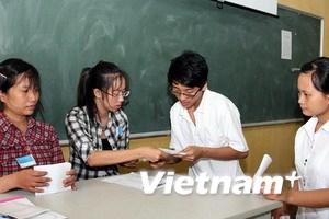 Tiến hành kiểm tra công tác chuẩn bị thi cao đẳng
