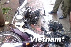 Vụ nổ xe máy tại Bắc Ninh: Hung thủ là em rể