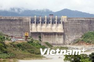 Đoàn công tác QH kiểm tra thủy điện Sông Tranh 2