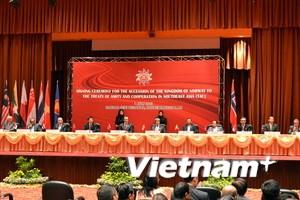 Na Uy ký Hiệp ước thân thiện và hợp tác với ASEAN
