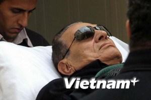 Mubarak trở lại nhà tù