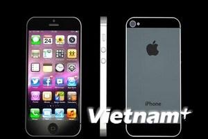 Apple sẽ có lượng xuất xưởng kỷ lục nhờ iPhone 5