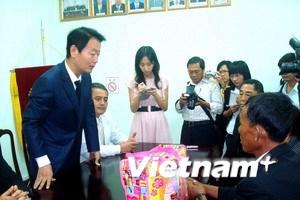 Phía Hàn đến nhà gia đình cô dâu Việt chia buồn