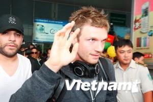 Nick Carter, Howie Dorough của BSB tới Việt Nam