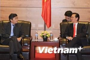 Thủ tướng tiếp các nhà lãnh đạo dự Hội nghị ADB