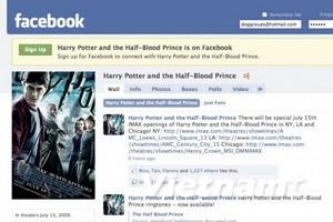 """Harry Potter """"hoành hành"""" trên thế giới Facebook"""
