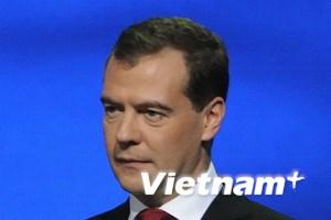 Tổng thống Medvedev bất ngờ thăm tỉnh Kaliningrad