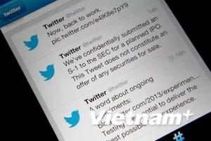 Twitter đã nộp đơn IPO