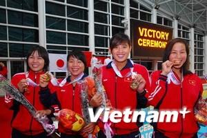 VN dẫn đầu bảng xếp hạng với 16 huy chương vàng