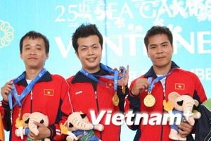 Bắn súng Việt Nam hướng tới giành vàng Olympic