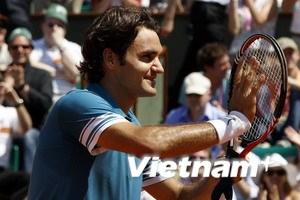 Federer phô diễn sức mạnh tại giải Roland Garros