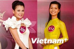 Đại diện miền Trung-Tây Nguyên dự Hoa hậu Việt