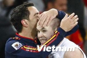 Tây Ban Nha thống trị đội hình tiêu biểu World Cup