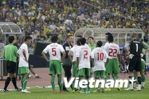 Trận chung kết AFF Cup: Suýt vỡ vì những tia laser