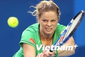 Kim Clijsters chiến thắng tuyệt đối trước Safina