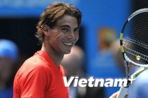 Australia Open: Nadal dễ dàng giành quyền đi tiếp
