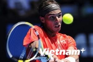 Nadal dễ dàng tiến vào vòng 3 tại Australia Open