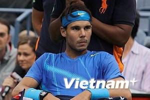 Rafael Nadal nổi cáu