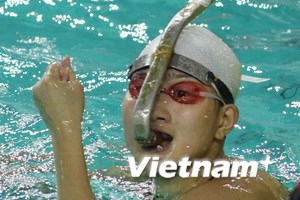 Đoàn Việt Nam cán mốc 80 HCV SEA Games 26