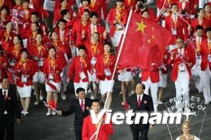 Trung Quốc ca ngợi cả VĐV không đoạt huy chương