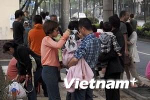 Video vụ động đất mạnh 7 độ Richter tại Trung Quốc